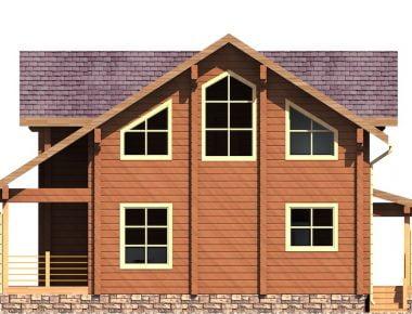 деревянный дом в деревне