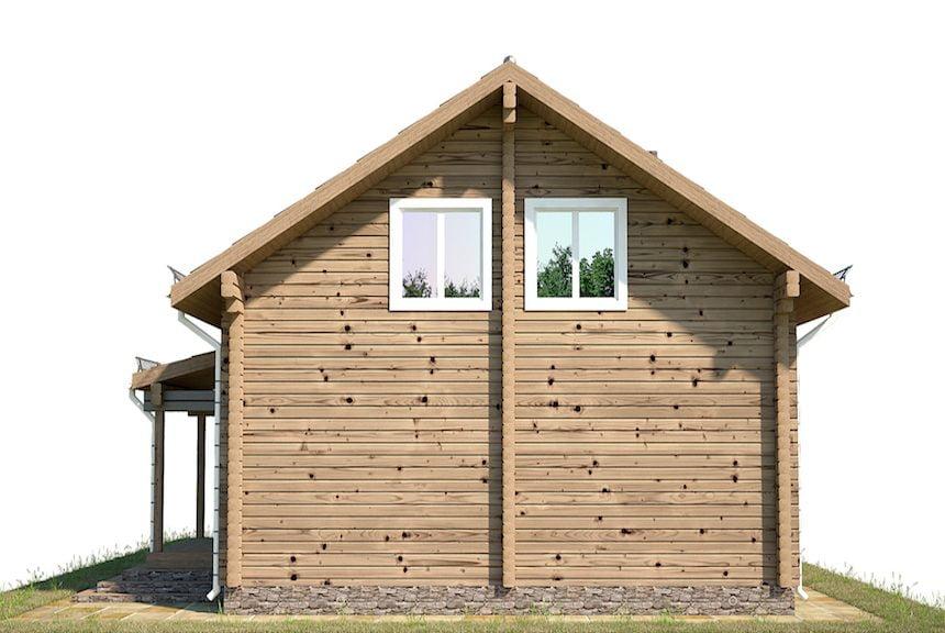 стоимость дома из клееного бруса