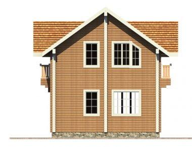 дома из бруса под ключ проекты
