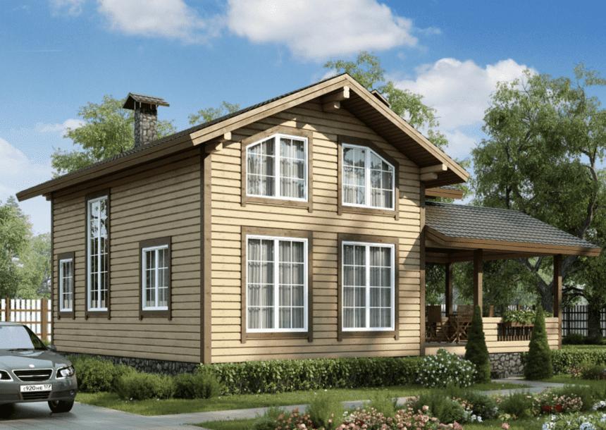 купить деревянный дом недорого